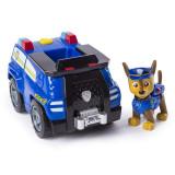 Set de joaca Chase Transforming Police Cruiser Patrula Catelusilor