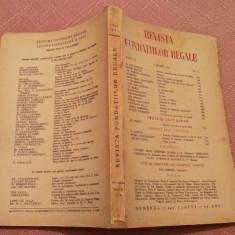 Revista Fundatiilor Regale - Anul X, 1 Iunie 1943, Nr. 6