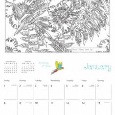 Calendar 2017 - Secret Places: Adventures in Ink and Imagination | Workman Publishing