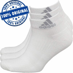 Set 3 perechi sosete Adidas 3S - sosete originale, Alb