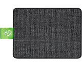 SSD extern Seagate, 500GB, Ultra Touch, 2.5, USB 3.0, White Fabric