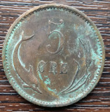 (M87) MONEDA DANEMARCA - 5 ORE 1902