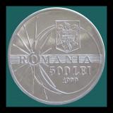 ROMANIA KM#146 - 500 Lei 1999 - Ø25mm - 3.6g - UNC - ECLIPSA