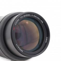 Obiectiv  Minolta 70-210mm 3.5-4.5 montura Minolta Sony A