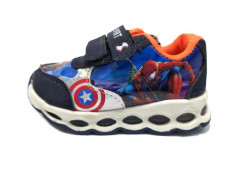 Spiderman-pantofi sport copii, cu led foto