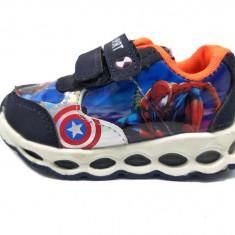 Spiderman-pantofi sport copii, cu led