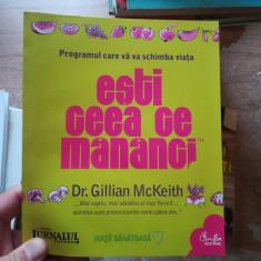 Esti ceea ce mananci – Dr. Gillian McKeith
