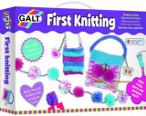 Joc creativ Galt 1003460 Primul meu set de tricotat