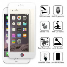 Folie Sticla iPhone 6s Plus Acoperire Completa Alba