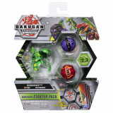 Set figurine Bakugan S2 Start - Trox Hydorous si Dragonoid Ultra