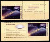 Romania 2007, LP 1789 a, Sprijin pt nevazatori, 2 serii cu viniete diferite, MNH, Medical, Nestampilat