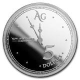 Cumpara ieftin Moneda argint 999 lingou, Chronos 1 uncie = 31 grame