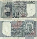 1982 ( 3 XI ) , 10,000 lire ( P-106b.2 ) - Italia