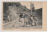 Busteni--Salutari din Romania - Tunelul de la Busteni, Necirculata, Printata