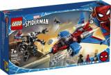Cumpara ieftin LEGO Super Heroes, Spiderjet contra Robotul Venom 76150