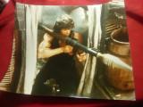 Fotografie Film -Rambo I -1982 cu Sylvester Stallone , dim.= 29x23cm