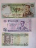 Lot 3 bancnote UNC:Iraq+Sudan