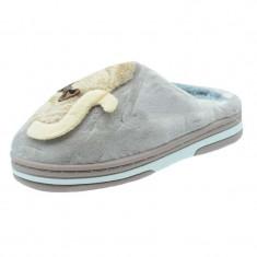 Papuci de casa imblaniti pentru fetite NN GP19-GY1931-1-MA, Maro