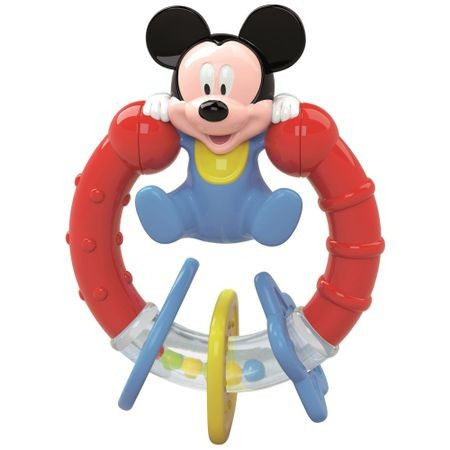 Jucarie zornaitoare pentru bebelusi, Mickey Mouse Clementoni