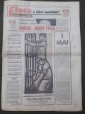 Ziarul Flacara 1 mai 1986