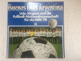 Udo jurgens fussball nationalmannschaft buenos dias argentina 1978 CM disc vinyl, VINIL, ariola