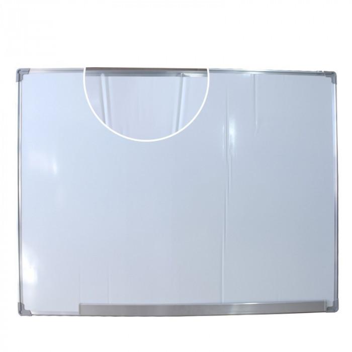 Tabla magnetica pentru prezentari 90x120 cm, rama din aluminiu, Resigilata