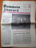 Romania literara 12 ianuarie 1989-art. mihai eminescu,filmul chirita se intoarce