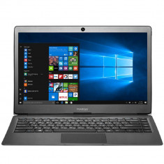 Laptop Prestigio SmartBook 133S 13.3 inch FHD Intel Celeron N3350 3GB 32GB eMMC Intel HD Graphics Windows 10 Home Dark Grey