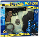 GONHER Set Politie 8 capse