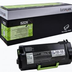 Toner lexmark 52d2x0e black 45 k ms811dn ms811dtn ms811n ms812de