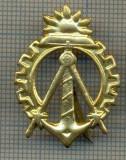 Y 1737 INSIGNA - MILITARA -SEMN DE ARMA - GENIU  -PENTRU COLECTIONARI