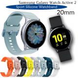 Curea silicon 20mm ceas Samsung Galaxy Watch Active 1 2 Galaxy Watch 42mm 3 41mm