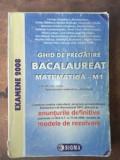 Ghid de pregatire bacalaureat matematica- M1 - Carmen Anghelescu