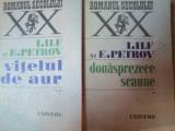 DOUASPREZECE SCAUNE VOL I , II de I. ILF , E . PETROV , 1971