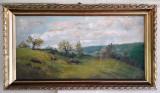 Tablou – pictură pe pânză de Ion Marinescu-Vâlsan (1866-1936), nesemnat