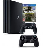 Consola Sony PlayStation 4 Pro 1 TB + Extra Controller PS4 + joc Call of Duty Infinite Warfare PS4