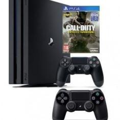 Consola Sony PlayStation 4 Pro 1 TB + Extra Controller PS4 + joc Call of Duty Infinite Warfare PS4