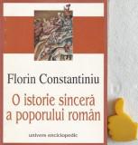 O istorie sincera a poporului roman Florin Constantiniu