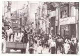 1065 - BUCURESTI, Lipscani street Romania - real PHOTO (17/11 cm) - unused  1966