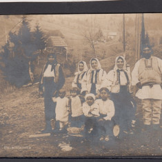 Carte Postala Romania WW1 - Familie Ciobani