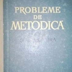 Probleme de metodica - limba si literatura
