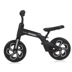 Bicicleta de Tranzitie pentru Copii Spider, fara Pedale si Roti Mari, Colectia 2019 Black