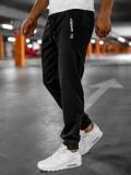 Pantaloni de trening negri Bolf JX328