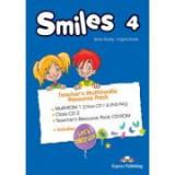 Curs limba engleza Smiles 4 Material aditional pentru profesor Pachet Multimedia - Jenny Dooley, Virginia Evans
