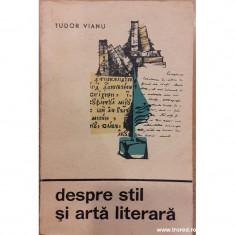 Despre stil si arta literara