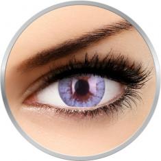 Cheerful Crystal Blue - lentile de contact colorate albastre lunare - 30 purtari (2 lentile/cutie)
