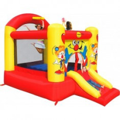 Spatiu de joaca gonflabil Slide and Hoop