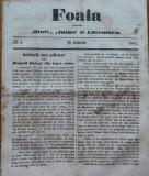 Foaia pentru minte , inima si literatura , nr. 4 , 1863 , Grigore Alexandrescu