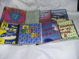 lot 8 Disc CD Vintage,MTV EUROPEAN TOP.20,Vol.3,7,8,9,10,12,13,14,T.GRATUIT