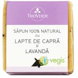 Sapun Natural Cu Lapte De Capra Si Lavanda 110Gr